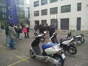 Éducation à la sécurité routière - scooters et élèves