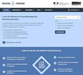 Un nouveau site Internet pour l'éducation prioritaire