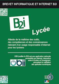 Brochure OBii lycée