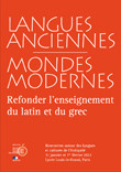 Rencontres 2012 Langues anciennes et mondes modernes
