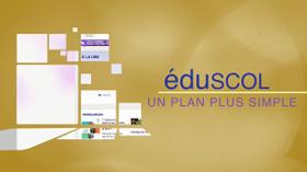 éduscol, un plan plus simple