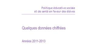 Résultats de l'enquête 2011-2013