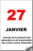 Mémoire des génocides et prévention des crimes contre l'humanité