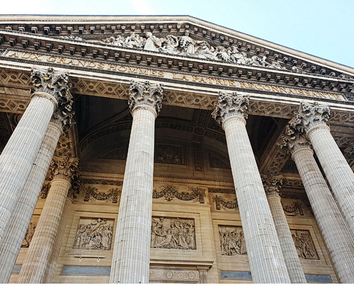 Fronton du Panthéon